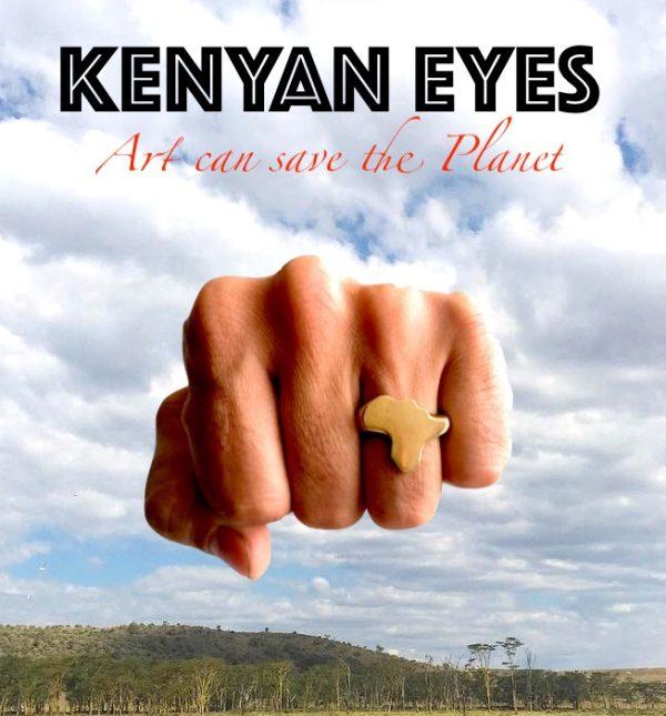 poster del documental kenyan eyes rodado en kenia por melon productions