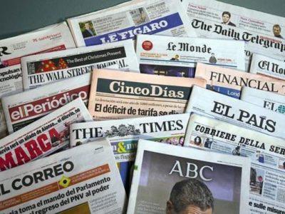portadas de periodicos
