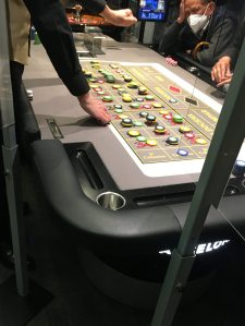 mesa de ruleta en el casino de barcelona