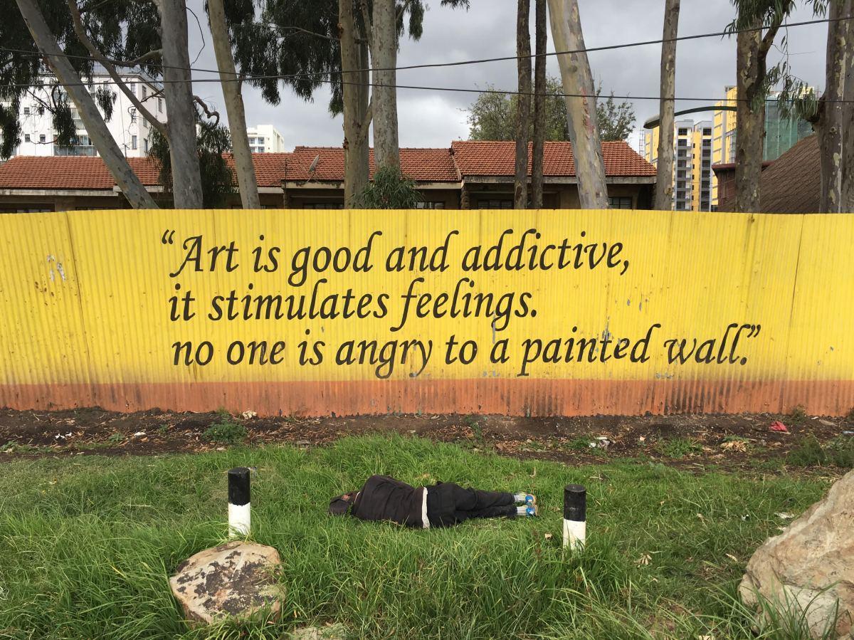 el arte es bueno y no hace daño a nadie